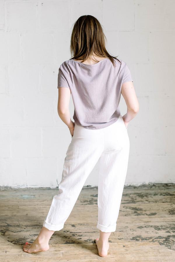 Wray Fielding Pant - White
