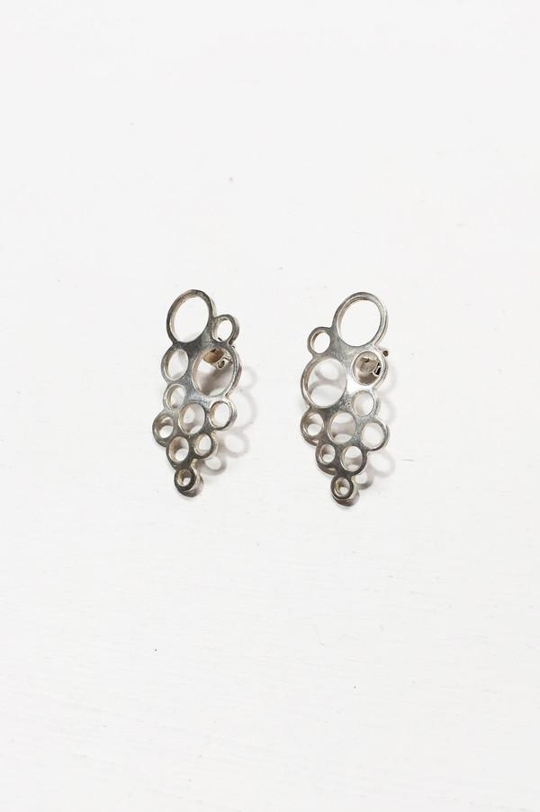 L. SHOFF Sterling Silver Float Earrings