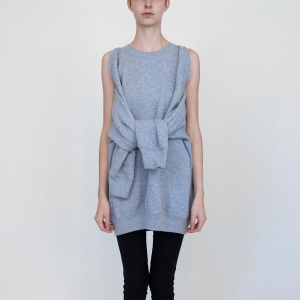 Detached Sleeve in Grey