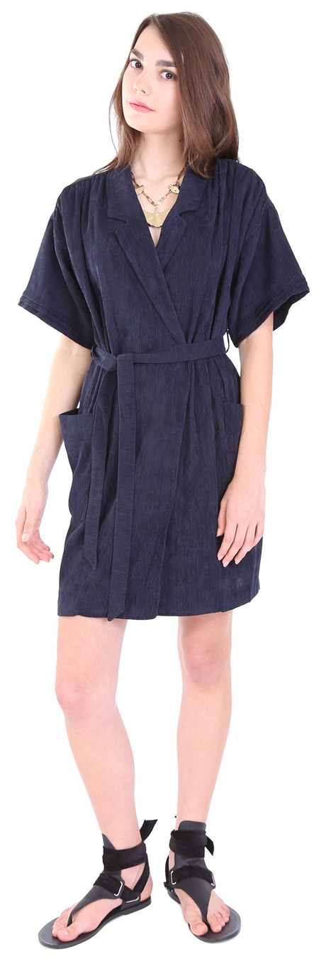 Hoss Intropia Dress with Tie Waist