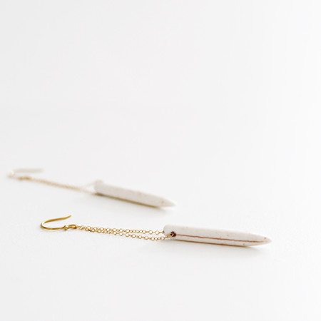Clementine Long Spear Earrings