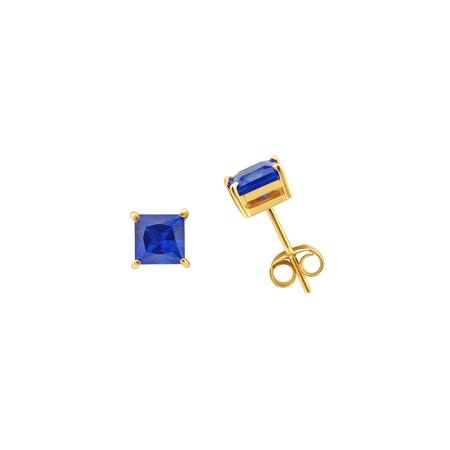 Tara 4779 ARC studs - Sapphire