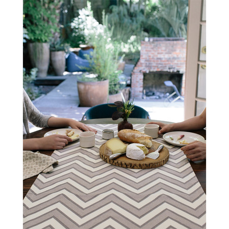 Erica Tanov zigzag table runner