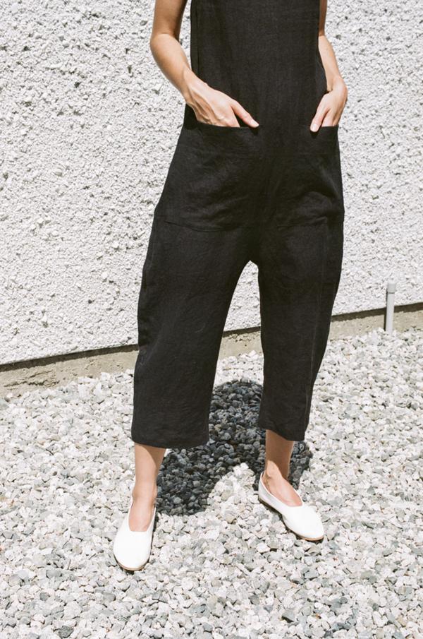 Ilana Kohn Gary Jumpsuit - faded black