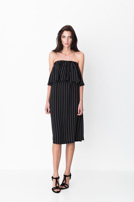 Storm & Marie Ross Ruffle Strapless Dress