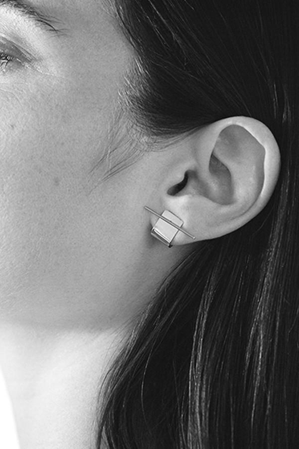 Kathleen Whitaker Silver Ear Cuff
