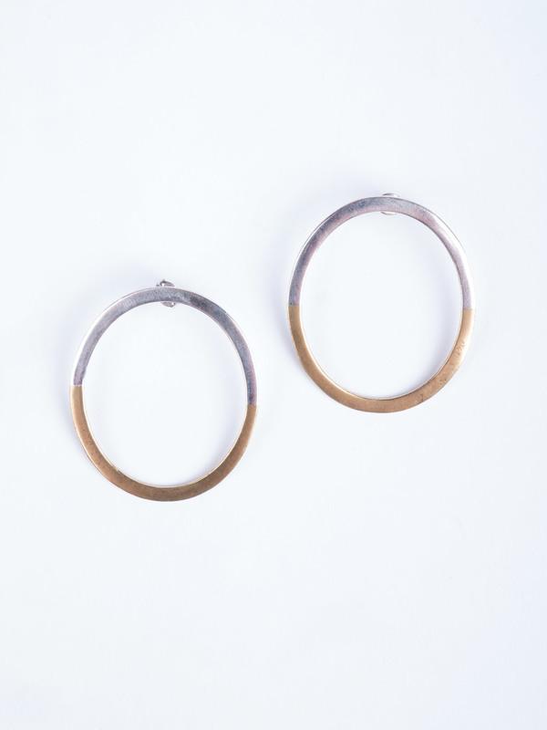 Stvdio Brooklyn Half Hoop Earrings