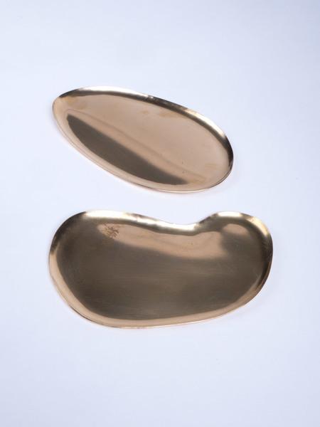 Fixed Air Brass Dish