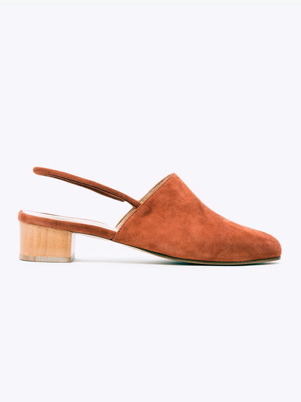 Anne Thomas Williamsburg Shoe Brown