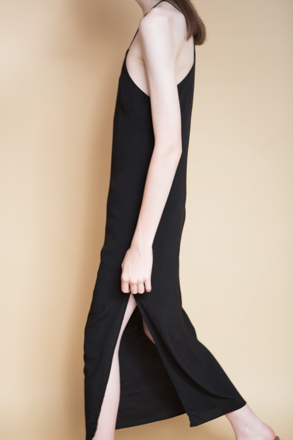 BLQ Basiq Tank Midi Dress / Black