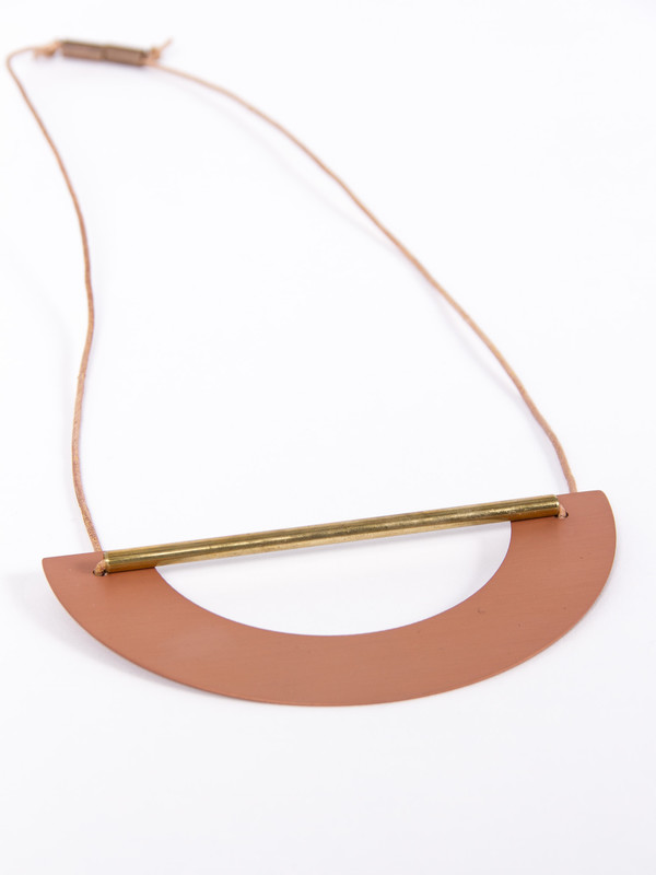 Ladies & Gentlemen Big Arch Necklace Copper