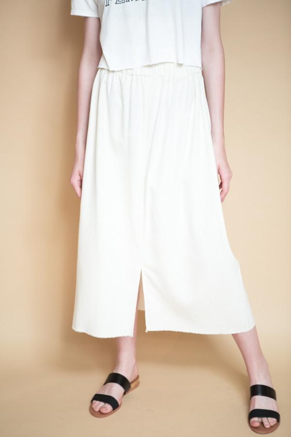 Miranda Bennett Paper Bag Skirt / Natural