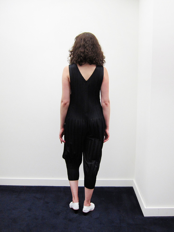 Issey Miyake Fluffy Pleat Jumpsuit - Black