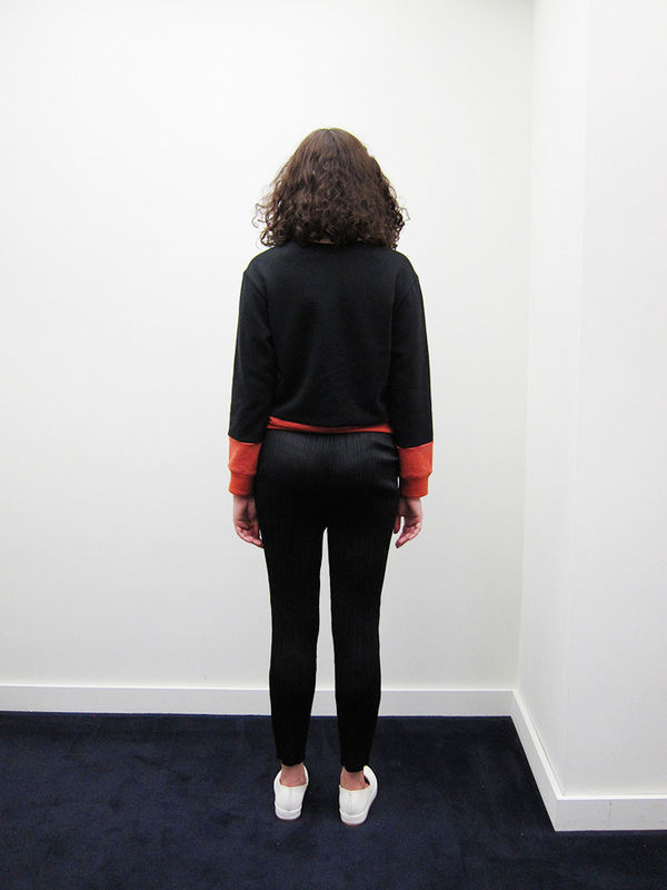 Issey Miyake Straight Slim Pant, Black