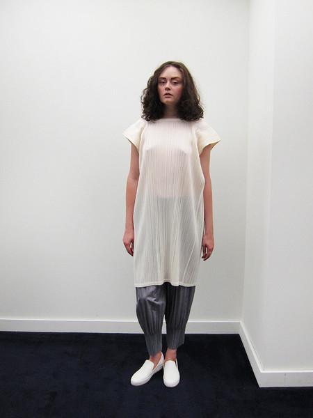 Issey Miyake Rectangular Dress - Off White
