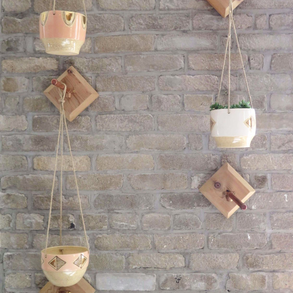 Pine Creek Hanging Planter