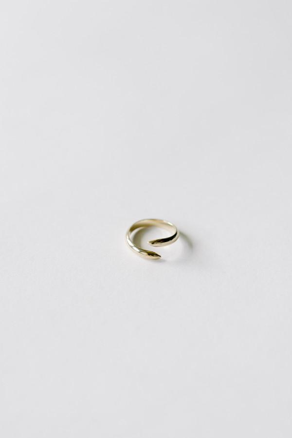 L. SHOFF 14K Yellow Gold Midi Spike Ring