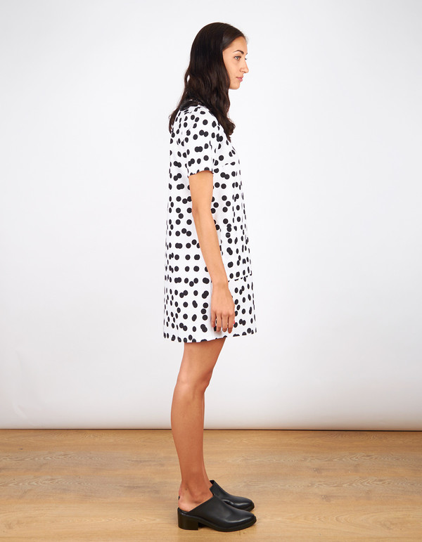 Dusen Dusen Tee Dress Double Dot