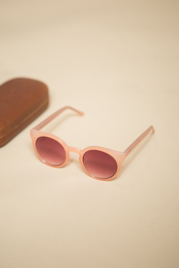 KOMONO Lulu Sunglasses / Pale Blush