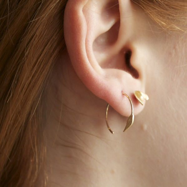 Wwake 14k earrings