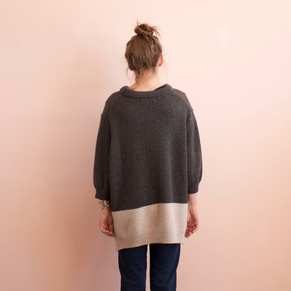 Micaela Greg Blocked pullover sweater