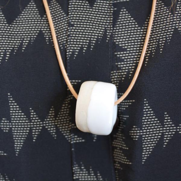 Jujumade Ceramic Bead necklace
