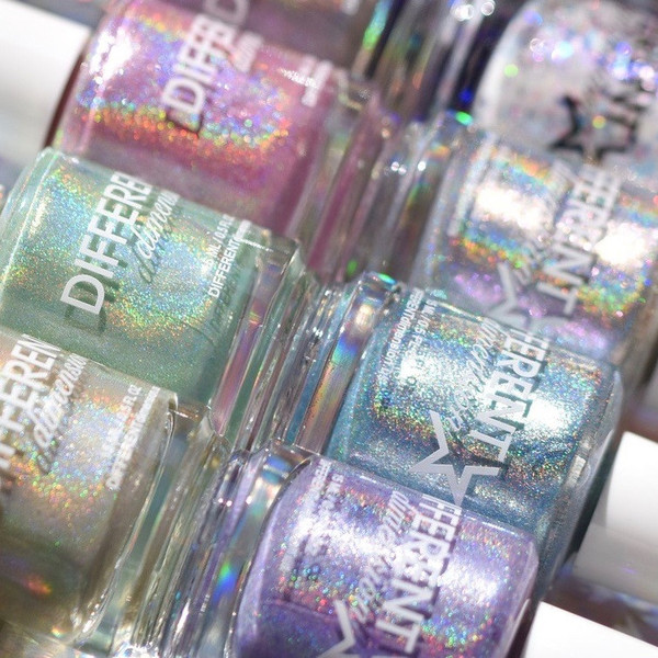 Different Dimension holo nail polish