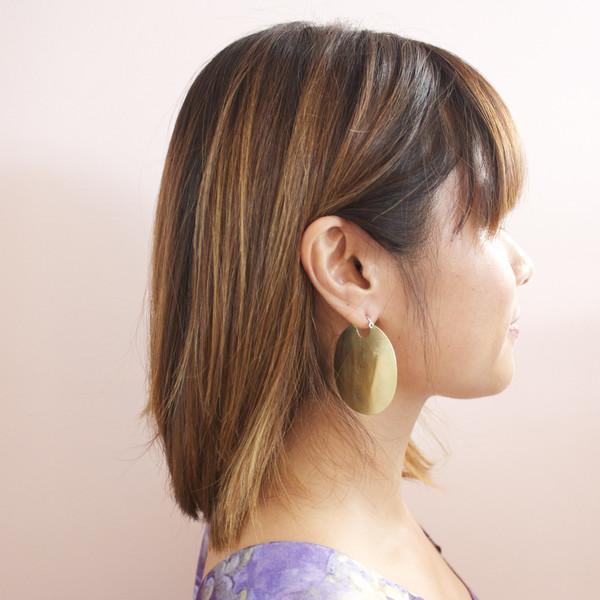 In God We Trust Kingston earrings