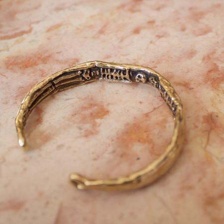 Goldengrove Jewelry memento mori cuff