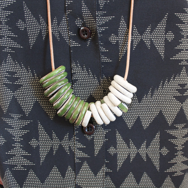 Jujumade Sliced Cluster necklace