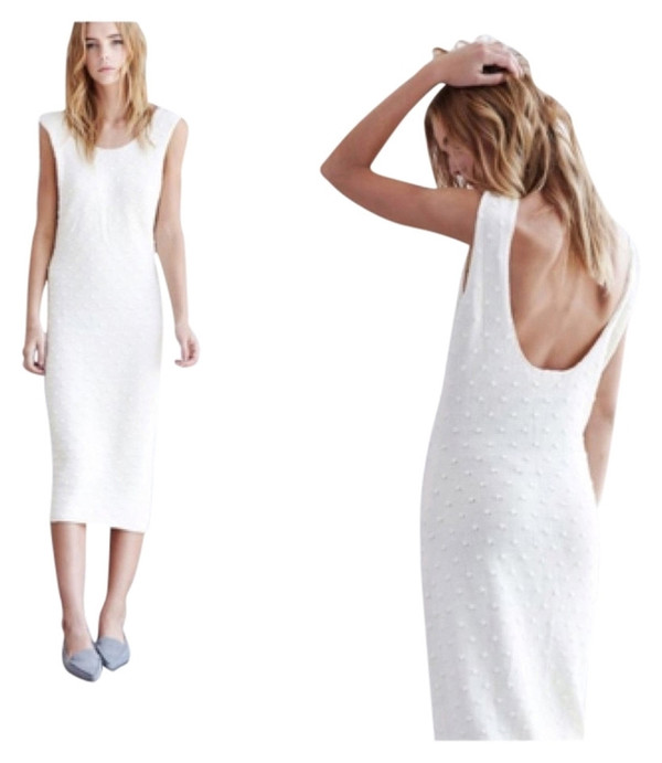 Callahan Nubby Low Back Dress