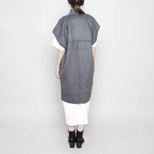 7115 by Szeki Reversible Kimono Vest FW16