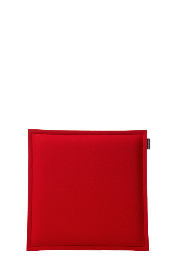 Zabuton Red Square Seat Pad