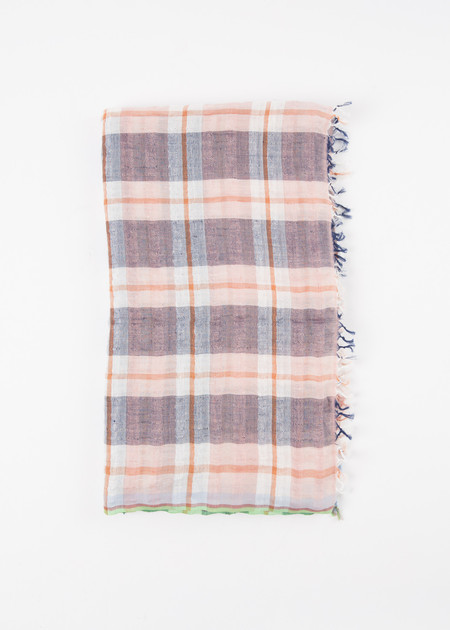 Epice Checker Plaid Scarf