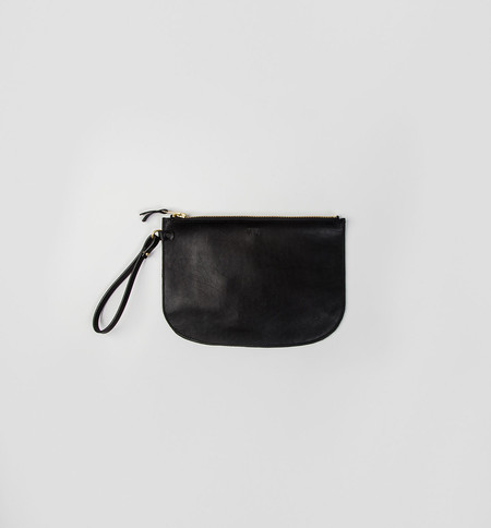 CHC Black Lune Clutch