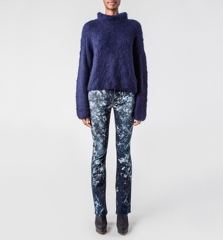VOZ Navy Turtleneck Sweater