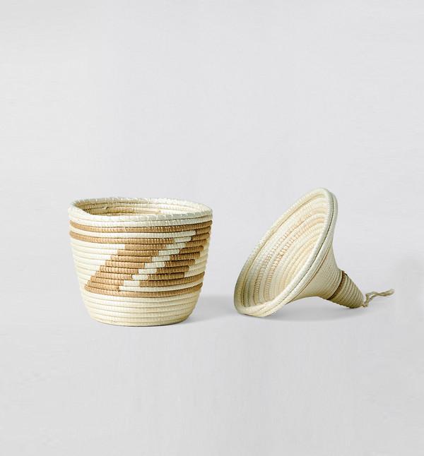 Indego Africa Peace Basket Natural
