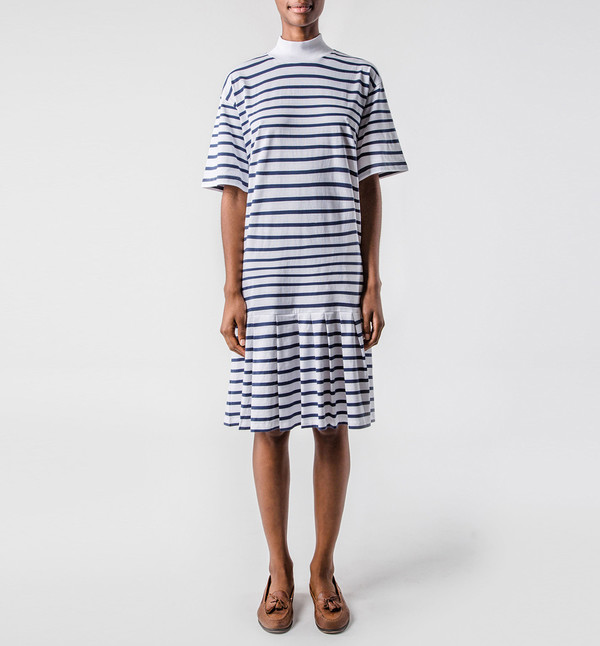 Kowtow Raku Dress Stripe