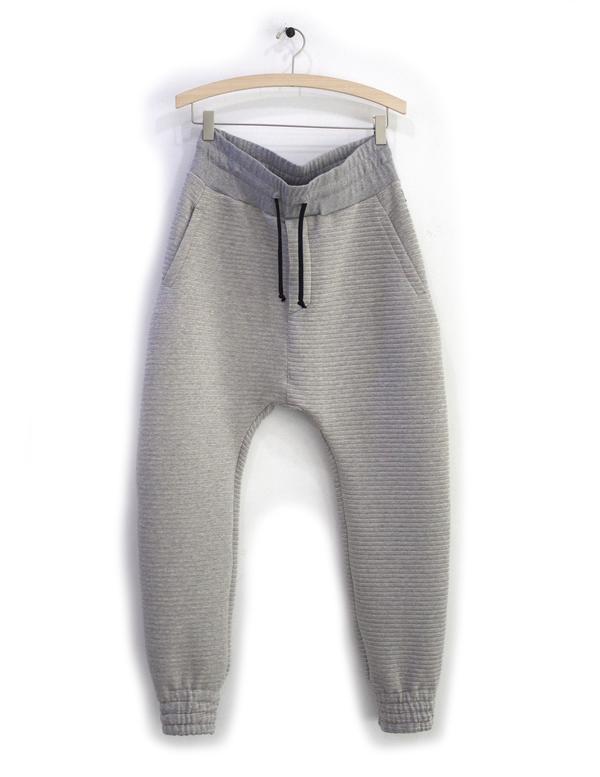 Men's Odeur Beyond Stripe Pants Grey
