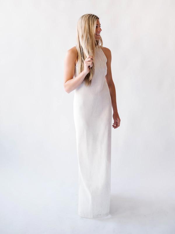 Bella Luxx Crepe Maxi Dress
