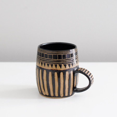 Little Bear Pots MUG (Black)