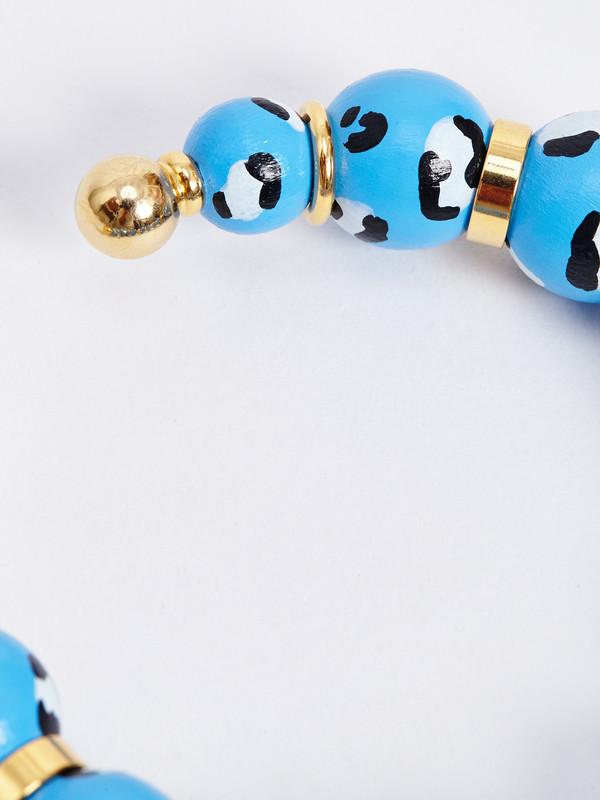 RAMOS BLUE LEOPARD BRACELET