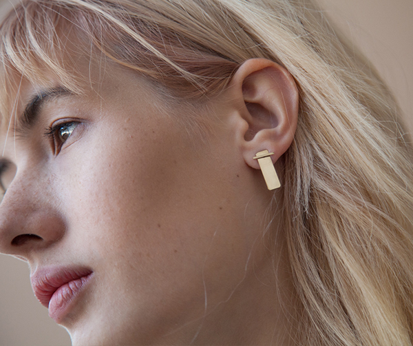 One Six Five Monument Earring