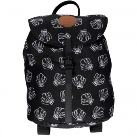 Beach & Bandits Sea Shells Black Backpack