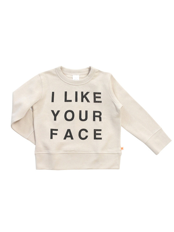 Tinycottons I Like Your Face Sweatshirt