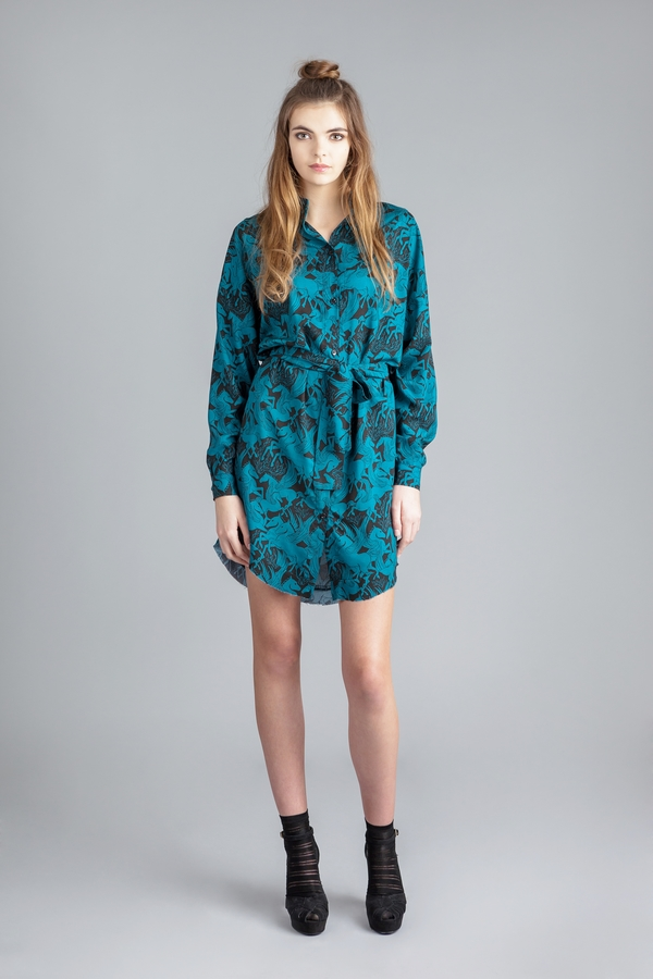 Allisonwonderland 'Apartment' dress - winged horses print
