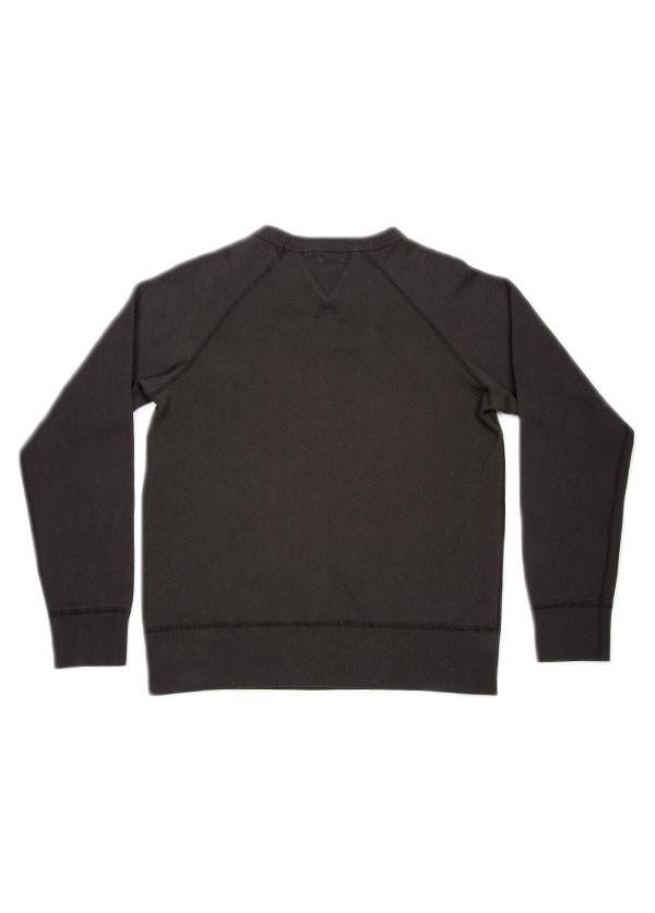 Velva Sheen - Men's Crew Neck Sweatshirt in Black