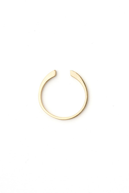 Honey & Bloom Cuff Ring 14k Yellow Gold