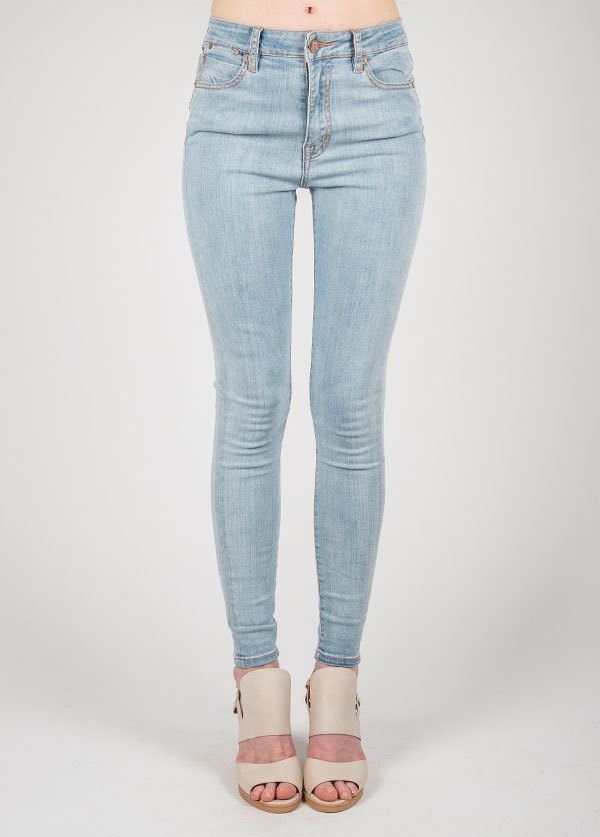 Williamsburg Garment Company - Union Ave Hi Waist Super Skinny in Sky Blue