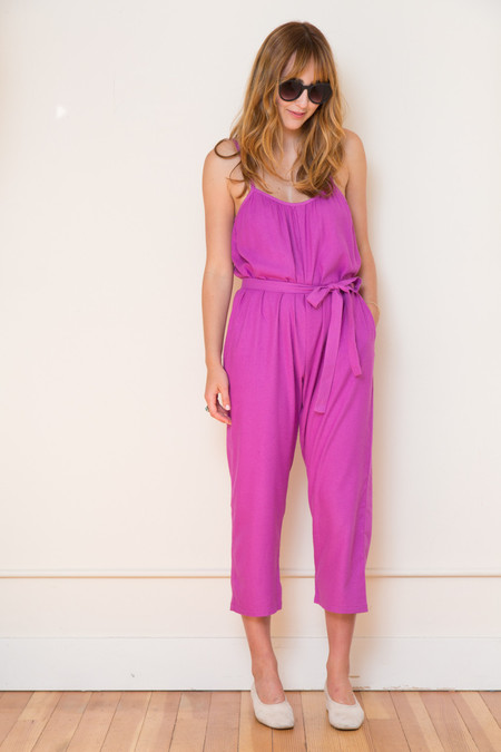 Lindsay Robinson Sol Jumpsuit in Hibiscus